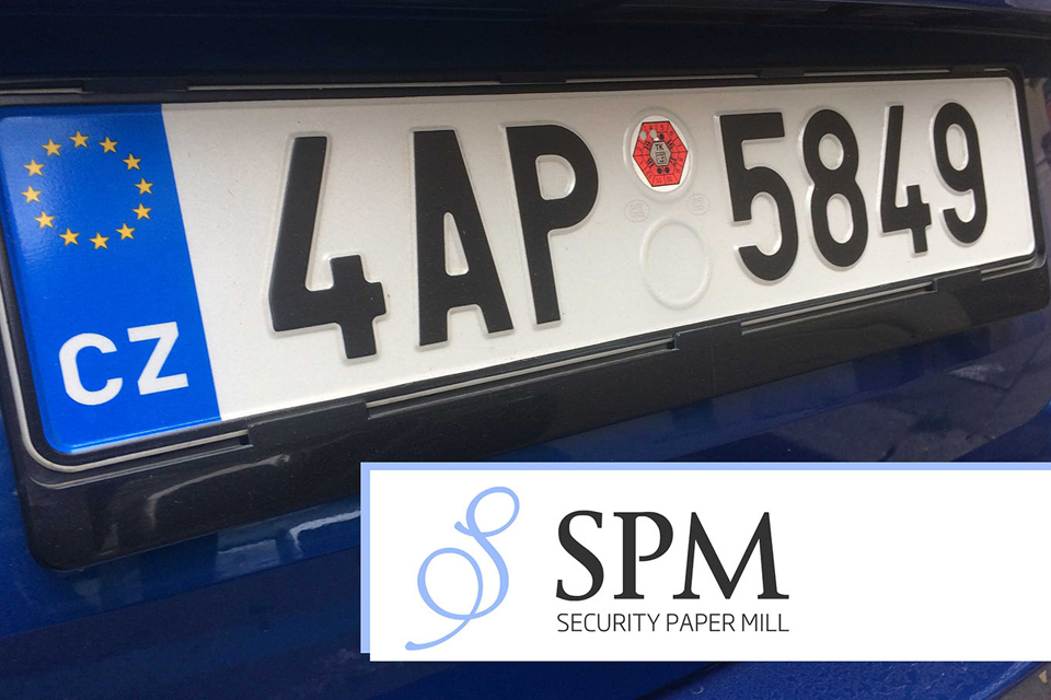 Security Paper Mill  won a Ministry of Transport tender for supply of licence plates