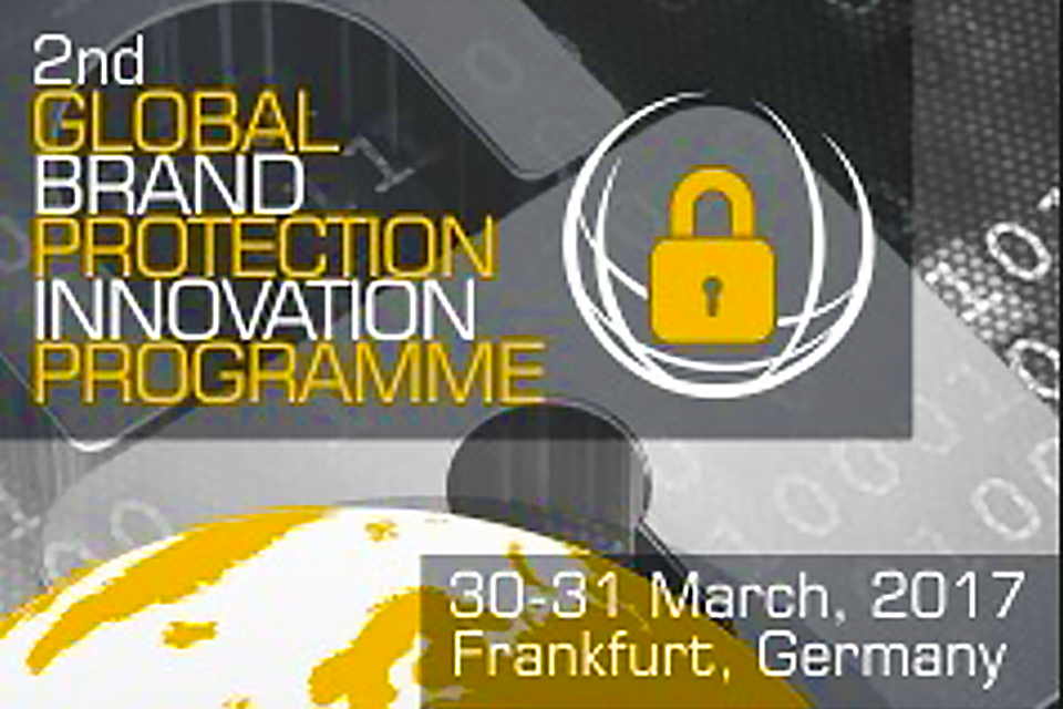 Security Ident Group will participate in the second annual conference Global Brand Protection Innovation Programme